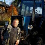 Сосед тракторист